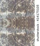 crack tree texture background | Shutterstock . vector #414175105