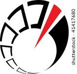 abstract speedometer | Shutterstock .eps vector #41417680