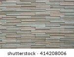 modern stone brick wall | Shutterstock . vector #414208006