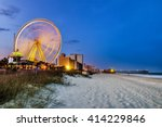 myrtle beach  south carolina ... | Shutterstock . vector #414229846