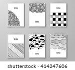 set of abstract design... | Shutterstock .eps vector #414247606