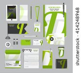 white corporate identity... | Shutterstock .eps vector #414248968