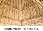 Leaf Roof Is Make With Bamboo...