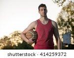 basketball player | Shutterstock . vector #414259372