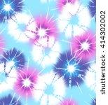 tie dye circles   seamless... | Shutterstock . vector #414302002