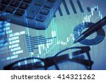 stock market information and... | Shutterstock . vector #414321262