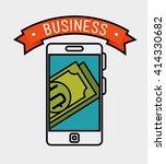 business flat line design