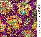 bright seamless pattern in... | Shutterstock .eps vector #414333736