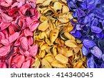 Colorful Of Potpourri Vintage.