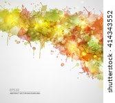 vector blots background   Shutterstock .eps vector #414343552