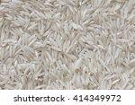 basmati white rice | Shutterstock . vector #414349972