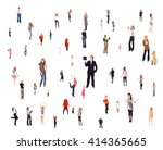 corporate teamwork workforce... | Shutterstock . vector #414365665