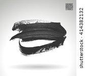 brush stroke and texture....   Shutterstock .eps vector #414382132