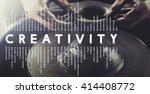 creative creativity ideas... | Shutterstock . vector #414408772