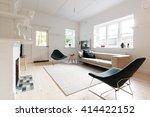 large contemporary interior... | Shutterstock . vector #414422152