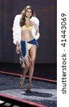 NEW YORK - NOVEMBER 19: Victoria's Secret Fashion Show model Isabeli Fontana on November 19, 2009 at the Lexington Armory in New York City. - stock photo