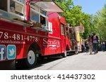 atlanta  ga   april 16   people ...   Shutterstock . vector #414437302