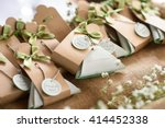 wedding gift for guest | Shutterstock . vector #414452338