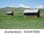 old school house   Shutterstock . vector #414457858