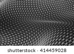 abstract polygonal space low... | Shutterstock . vector #414459028