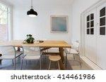 modern scandinavian styled... | Shutterstock . vector #414461986
