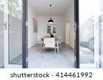 looking into contemporary... | Shutterstock . vector #414461992