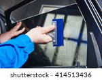 car tinting. automobile... | Shutterstock . vector #414513436