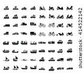 logistics and transport icons...   Shutterstock .eps vector #414522142
