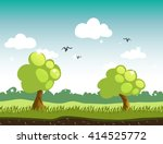 game background. colorful... | Shutterstock .eps vector #414525772