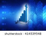 business graph | Shutterstock . vector #414539548