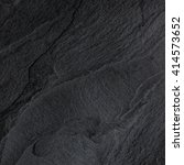 dark grey black slate... | Shutterstock . vector #414573652