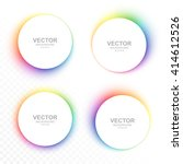 Set Of Colorful Blurry Circle...