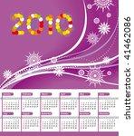 calendar 2010 | Shutterstock .eps vector #41462086