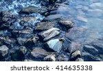 river from tropical rainforest...   Shutterstock . vector #414635338