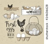 Eggs In The Vintage Antique...
