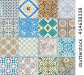 ceramic tiles patterns | Shutterstock . vector #414638338