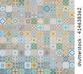 ceramic tiles patterns | Shutterstock . vector #414638362