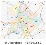 budapest administrative and... | Shutterstock .eps vector #414641662