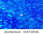 bright abstract mosaic blue... | Shutterstock . vector #414710536