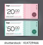 vector illustration. discount... | Shutterstock .eps vector #414729466