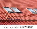 New Red Metal Roof With...