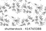 floral pattern to fit the needs ... | Shutterstock .eps vector #414765388