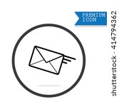 mail icon | Shutterstock .eps vector #414794362
