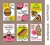 Vector Set Of Discount Coupons...