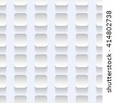 white plates on the wall.... | Shutterstock .eps vector #414802738