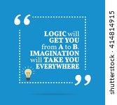 inspirational motivational... | Shutterstock .eps vector #414814915