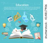 education infographics open