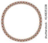 old classic border rounder... | Shutterstock .eps vector #414835108