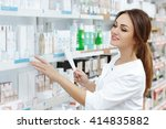 perfect medication. shot of a... | Shutterstock . vector #414835882
