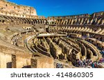 rome  italy   may 9  2014 ... | Shutterstock . vector #414860305